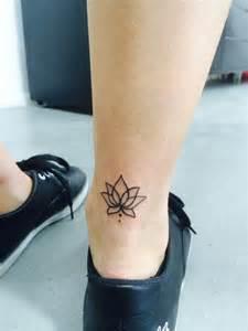 Lotus Ankle 34 Best Lotus Flower Tattoos On Ankle