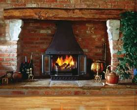 wood burning fireplaces with canopy home decor