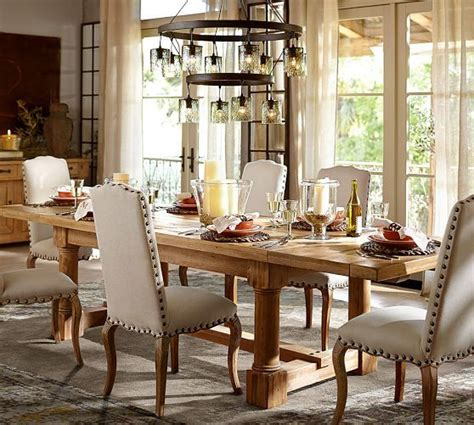 pottery barn dining room tables bukit bukit home interior and exterior