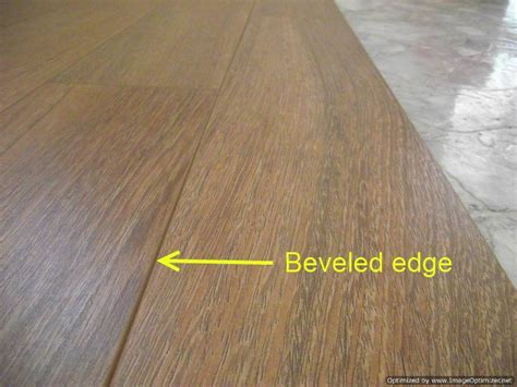 beveled edge laminate description