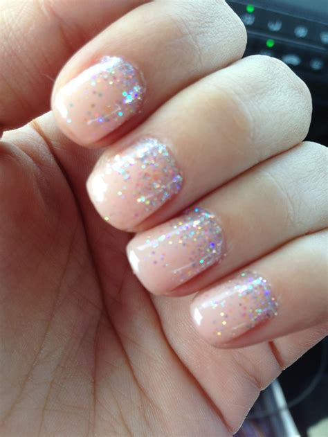 Manicure Opi my wedding nails opi gel color sprinkled with