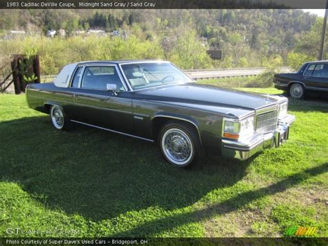 Gray Paint 1983 cadillac deville coupe in midnight sand gray photo no