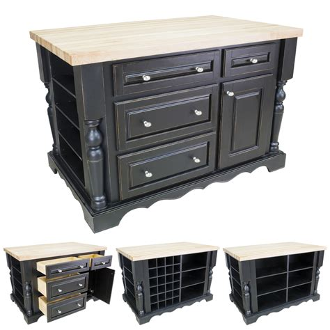 kitchen islands with drawers distressed black kitchen island with drawers isl02 dbk
