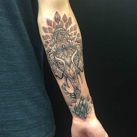 dotwork elephant tattoo primitive tattoo perth artist petra primitive tattoo