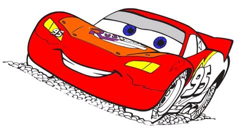 kid car drawing how to draw lightning mcqueen cars drawing for