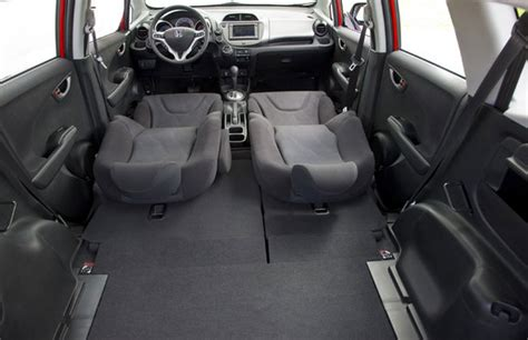 Honda Fit Interior Dimensions by 2012 Honda Fit Interior Accentuate The Subcompact Hatchback Versatility Onsurga