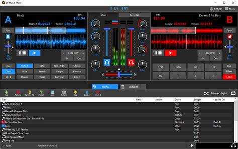 mp3 dj remix software download dj music mixer download professional dj mp3 audio mixing