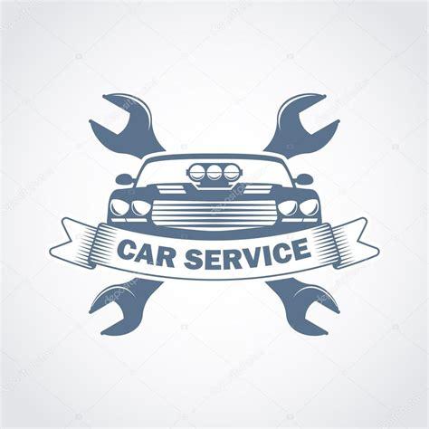 car service logo car repair service monochrome logo stock vector 169 ribz