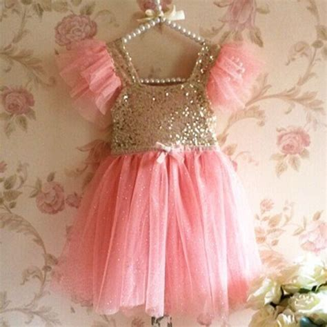 2016 New Children 2018 2016 boutique new style sequin dresses