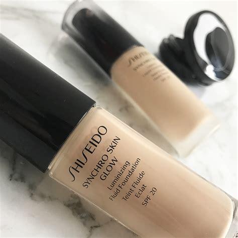 Shiseido Synchro Foundation shiseido synchro skin glow foundation