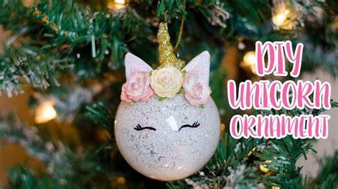 unicorn ornament simply dovie youtube