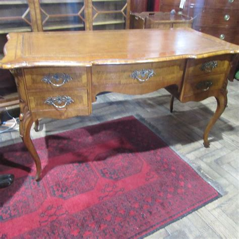 antique style writing desk antique french walnut writing desk antiques atlas