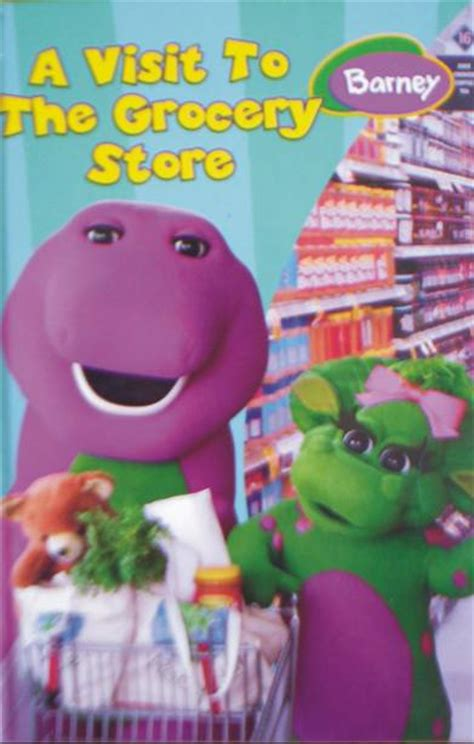 Barney Lets Go To The Doctor Story Book educational barney a visit to the grocery store original genuine was sold for r19 00