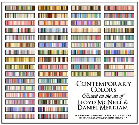contemporary colors contemporary colors gradients by skellorg on deviantart