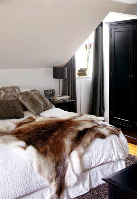 wandgestaltung schlafzimmer dachschräge schlafzimmer leuchte design