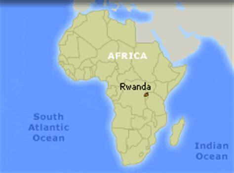 africa map rwanda wide angle bank thirteen ed