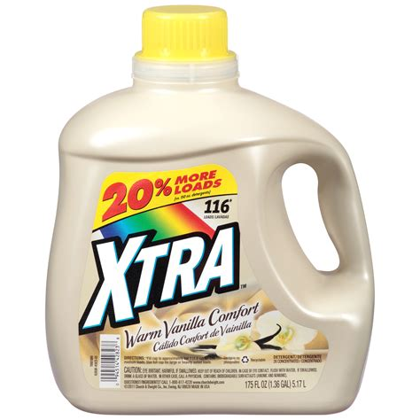 xtra warm vanilla comfort xtra warm vanilla comfort 2x concentrated 116 loads liquid