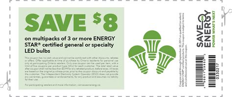 coupons for led light bulbs save energy residential coupons energy led
