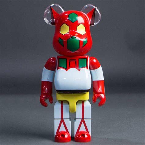 medicom getter robot getter 1 400 bearbrick figure white