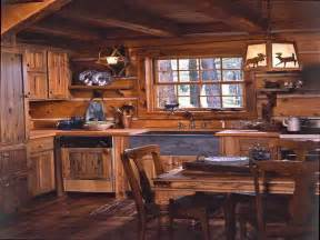 Cabin Kitchen Ideas by Kitchen Log Cabin Kitchens Design Ideas With Sink Log