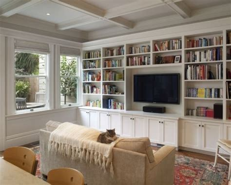 17 best ideas about shelves around tv on photo
