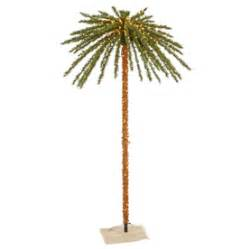 outdoor lighted palm trees shop vickerman lighted palm tree freestanding tree outdoor