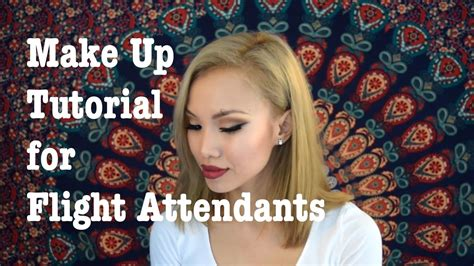 tutorial make up yg sederhana make up tutorial for flight attendants youtube