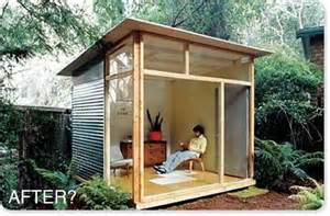 Craigslist Patio Furniture by Shed Plans For The Md100 Modern Shed Guest House From
