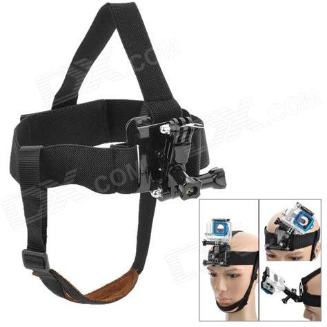 Headstrap Gopro miniisw m hf adjustable mount for gopro sj4000 black free shipping dealextreme