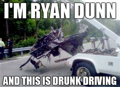 Drunk Driving Meme - laughing vault funny pictures hi i m ryan dunn and