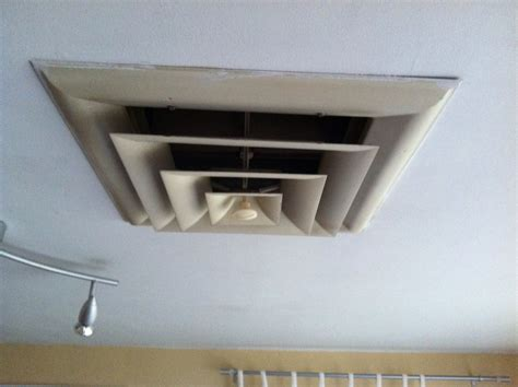 drop ceiling exhaust fan vent what are some alternatives to a square ceiling air