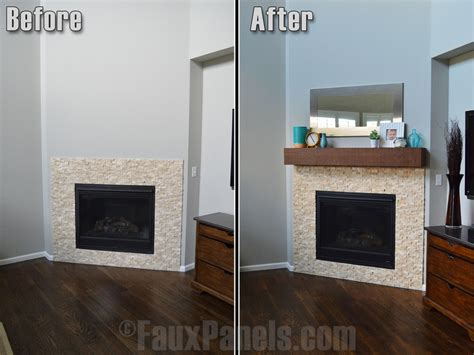 How To Install A Wood Beam Fireplace Mantel by How To Install A Fireplace Mantel Faux Wood Workshop