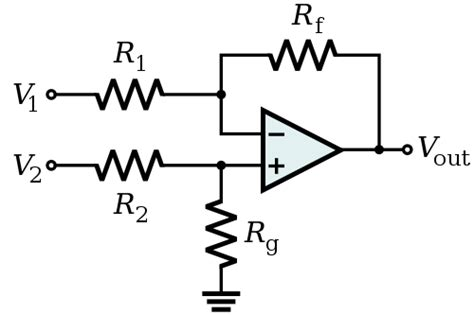 differential op resistor values op why do we add resistors on differential op electrical engineering stack exchange