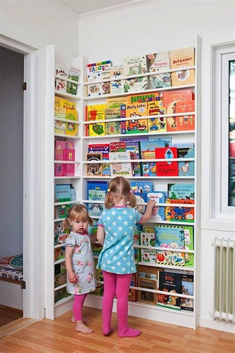 book rack kids 8 clever ways to display your child s books handmade