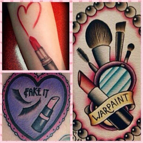 makeup artist tattoo makeup artist mua inspiration tattoos