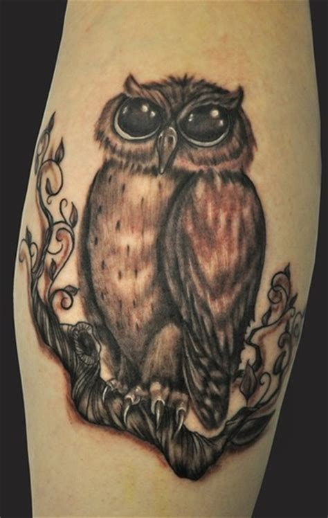 tattoo owl black and grey black and grey owl by katelyn crane tattoonow