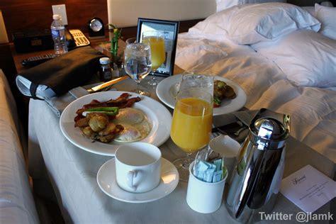 bed breakfast breakfast in bed at fairmont pacific rim vanfoodies com