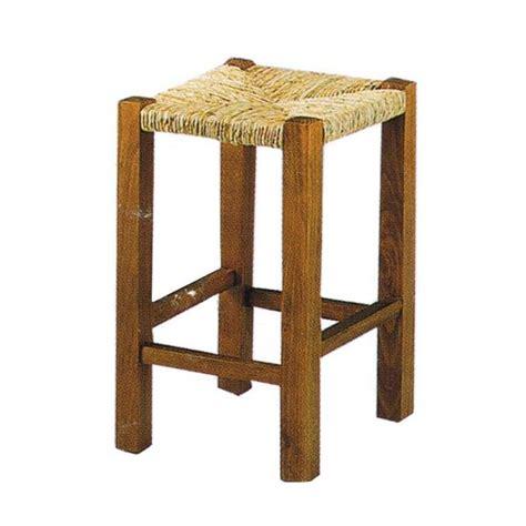 Tabouret Paille tabouret bois et paille la vannerie d aujourd hui