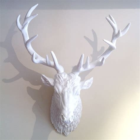 White Deer Wall Decor white deer wall decor s fashion and more