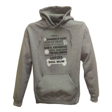 design dog hoodie feline designs animal fashion dog mum hoodie grey