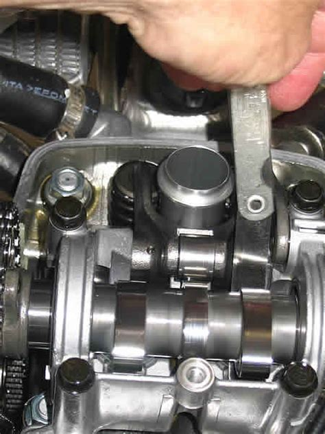 honda crf  valve clearance