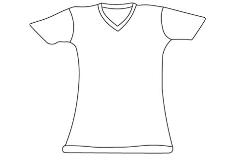 t shirt template illustrator download free vector art
