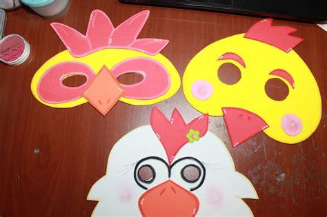 como hacer mascaras de pollitos con platos de papel mascaras de pollitos en foami imagui
