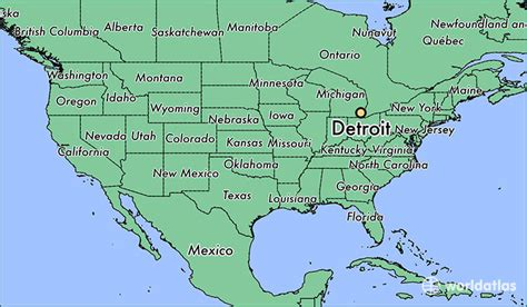 united states map detroit michigan where is detroit mi where is detroit mi located in
