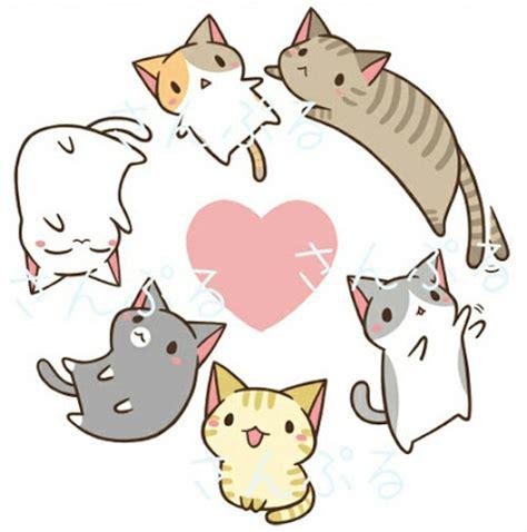 imagenes neko kawaii kawaii neko cat google zoeken drawings pinterest