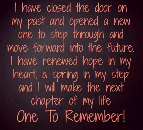 starting a new chapter in my life quotes quotesgram