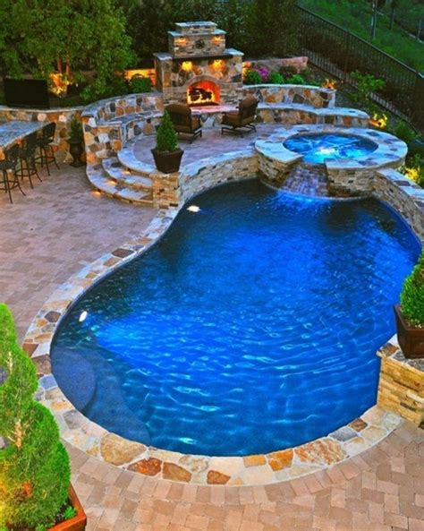 awesome pools backyard 65 awesome garden hot tub designs digsdigs