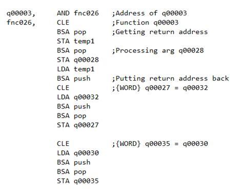 mano compiler school max s code