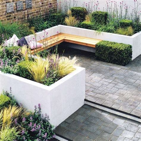 planters with bench seating 20 built in planters award winning contemporary concrete