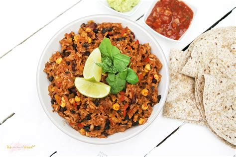 vegetarian bean and rice recipe vegan mexican rice and beans